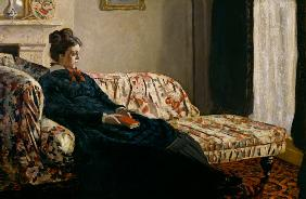 Meditation, or Madame Monet on the Sofa