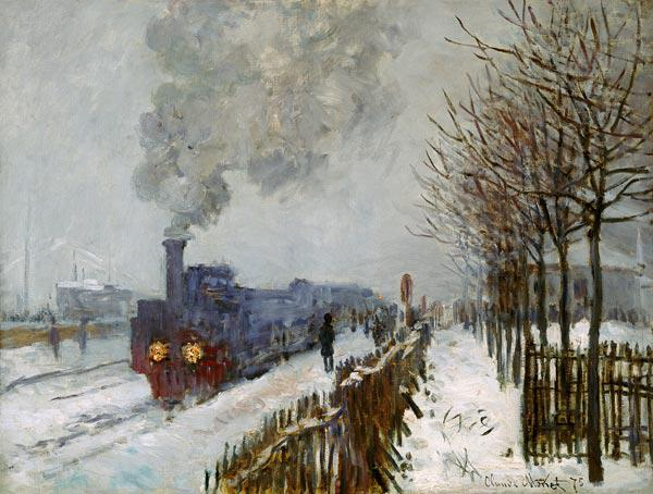 Train in the Snow, the Engine