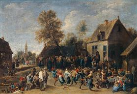 Teniers the Younger / Peasant Festival