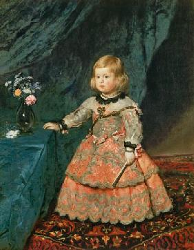The infanta Margarita Teresa