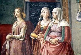 Florentine Ladies, from the Birth of St. John the Baptist