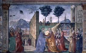 The Visitation (fresco) (for detail see 124356)