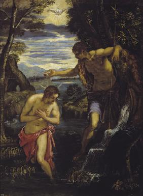 Tintoretto, Domenico : The Baptism of Christ