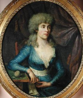 Portrait of Madame Lepage