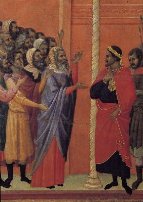Christ Handed over to Pilate