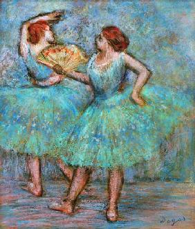 Degas, Edgar : Two Dancers
