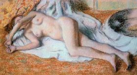 After the Bath or, Reclining Nude