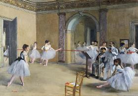 Ballet hall of the Opera, rue Peletier