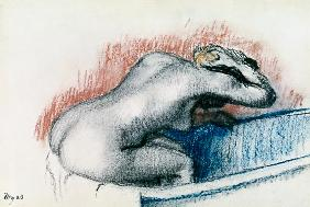 Degas, Edgar : Woman Washing in the Bath