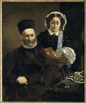 Monsieur and Madame Auguste Manet