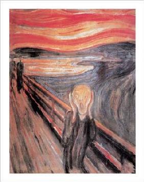 Munch, Edvard : The Scream   - (EM-16)