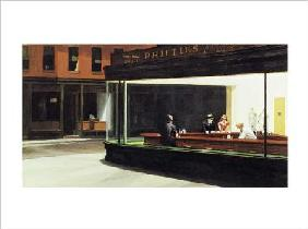 Hopper, Edward : Nighthawks - (EH-75)