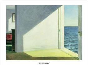 Hopper, Edward : Rooms by the Sea - (EH-186...