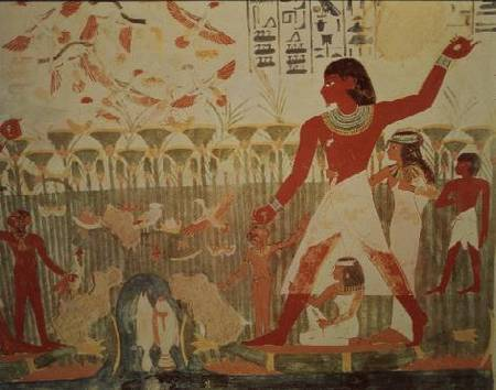 Hunting And Fishing From The Tomb Of Na Egyptian As Art