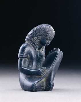 Seated scribe, New Kingdom, 1391-1353 BC