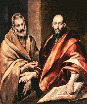 The apostles of Peter and Paulus