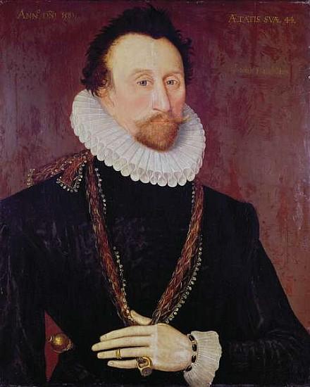 Tyreece John Jules Wallpaper: Portrait Of Sir John Hawkins (1532-95) 1