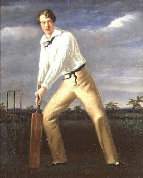 Portrait of a Young Cricketer
