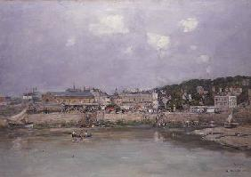 The Harbour at Trouville