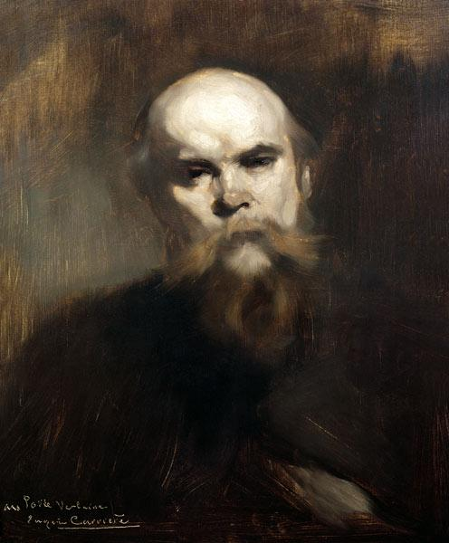 Portrait of Paul Verlaine (1844-96) 1890