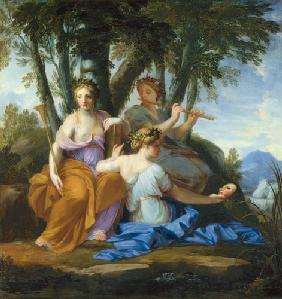 The three Muses