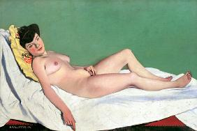 F.Vallotton / Reclining Nude / 1904
