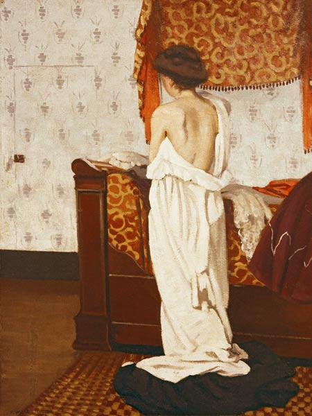 F. Vallotton / Getting Dressed