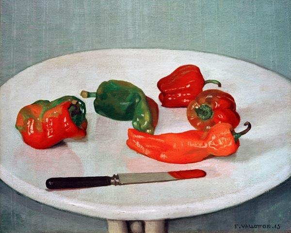 F.Vallotton, Rote Pfefferfr�chte