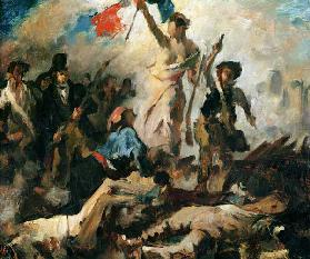 Study for Liberty Leading the People