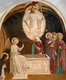 The Resurrection of Christ and the Pious Women at the Sepulchre