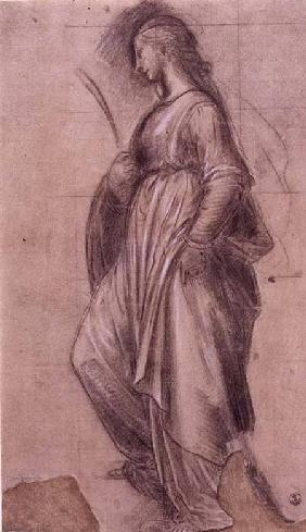Bartolommeo, Fra : Study of St. Catherine of ...