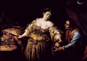 Judith Beheading Holofernes, c.1648-54 (oil on canvas)