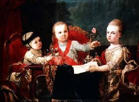 Three Princes, Children of Charles III