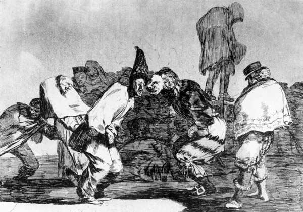 de Goya, Francisco Jos� : Disparate de Carnabal