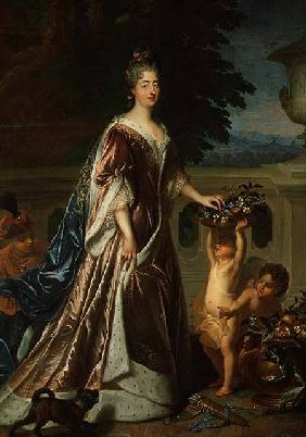de Troy, Jean Fran�ois : The Duchess of Maine (1676...