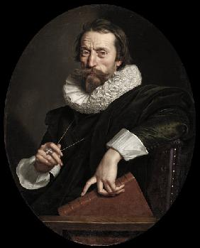 Portrait of the Italian poet, Giambattista Marino