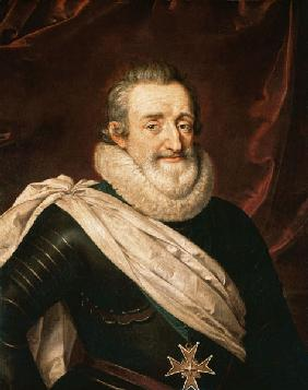 Portrait of Henri IV (1553-1610) King of France