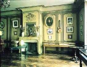 French School  - Drawing room in the birthplace of Hector Berlioz (1803-69) (photo)