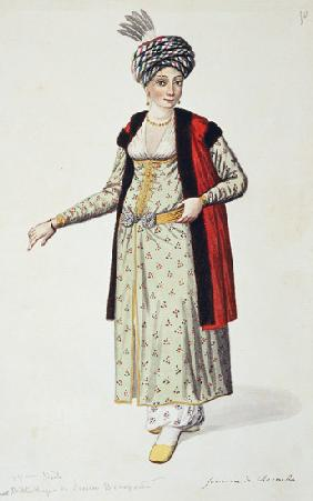 Woman from Rumelia, Ottoman period