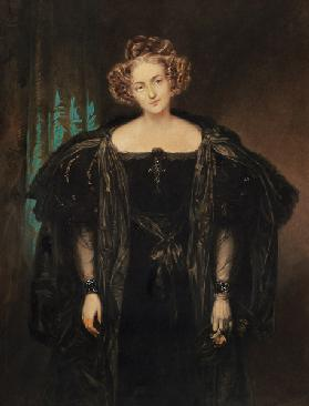Henriette Sonntag (1803-54) in the role of 'Donna Anna' from the opera 'Don Giovanni' by Mozart