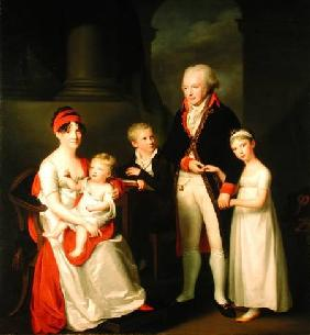 Marc Andre Souchay (1759-1814) and His Family