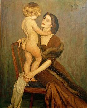 Lady and Child