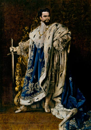 Ludwig Ii 1845 86 Gabriel Schachinger As Art Print Or