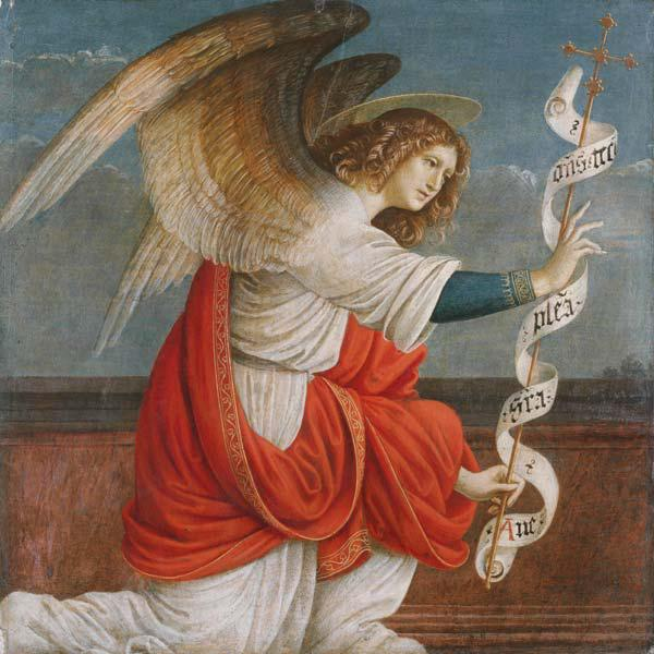 Archangel Gabriel (Panel from an Altarpiece: The Annunciation)