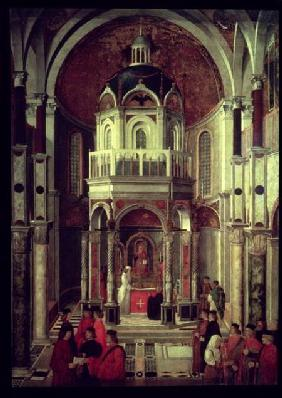 The Miraculous Healing of Pietro de' Ludovici