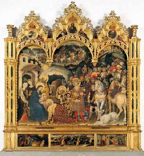 Adoration of the Magi (altarpiece) (for details see 69436 and 69438)