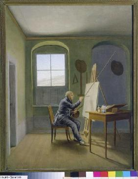 Kersting, Georg Friedrich : Caspar David Friedrich in ...