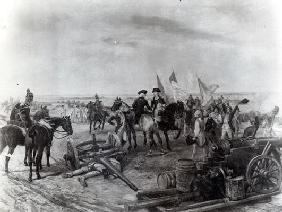 After Battle, 1893 (oil on canvas) (b/w photo)