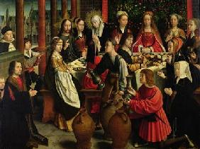 David, Gerard : The Marriage Feast at Cana