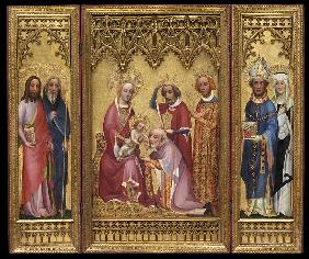 Adoration of the Magi, St. Severus and St. Walburga, St. James and St. Philip